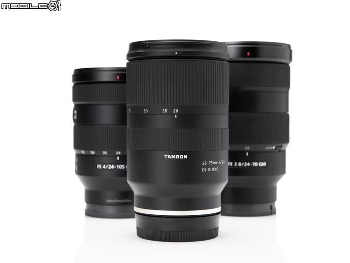 Tamron 28-75mm f/2.8 (A036) 與Sony 2470GM / 24105G...