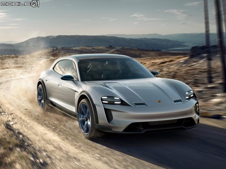 深藏百年的原力終於覺醒 Porsche Mission E Cross Turismo